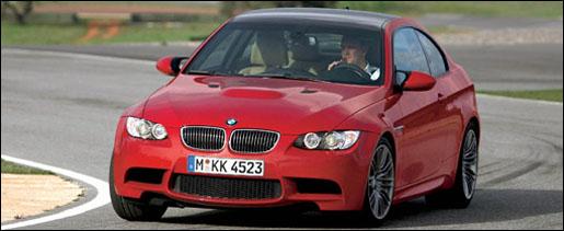 BMW M3 Rood