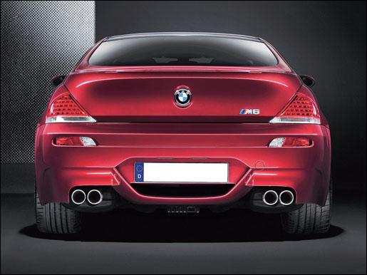 BMW M6 Achter