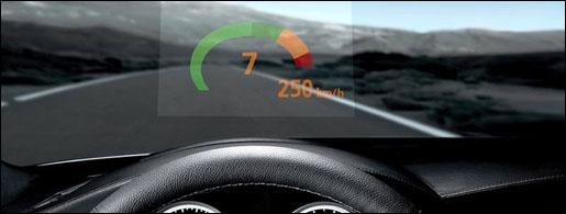 BMW M6 Head Up Display
