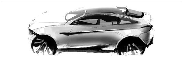 BMW X4 Sketch