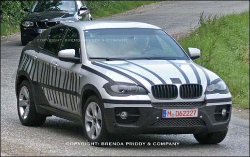 BMW X6 Spyshot