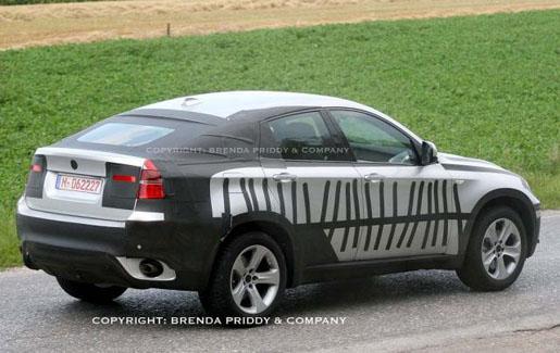 BMW X6 Spyshot 2