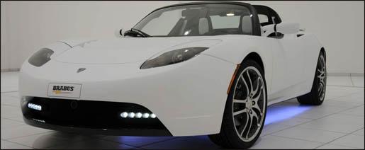 Tesla Roadster door Brabus