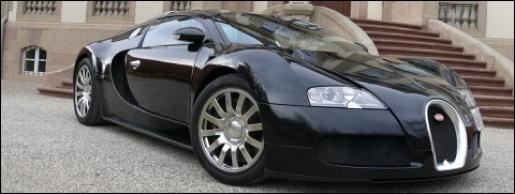 Bugatti Veyron Zwart Black