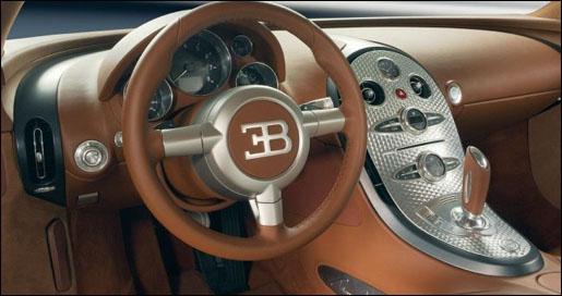 Bugatti Veyron Interieur