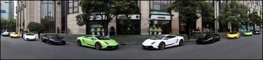 New Showroom Lamborghini China