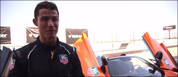 Video: Cristiano Ronaldo rijdt de McLaren P1 & 650S Spider