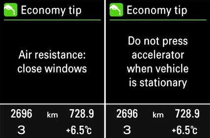 Audi ECO Tips