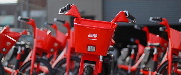 Uber lanceert elektrische JUMP deelfietsen in Brussel (2019)