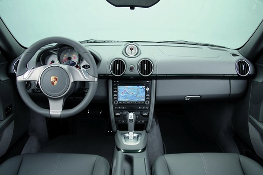 Facelift: Porsche Cayman Interieur