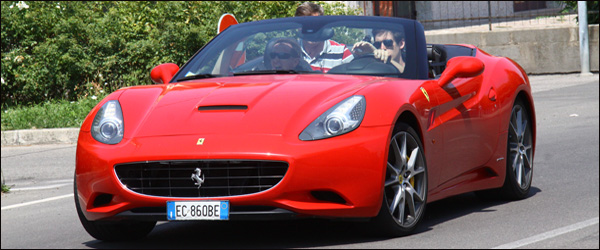 Ferrari california header