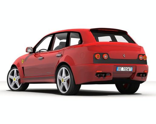 Ferrari FS 599 Fuoristrada SUV impressie