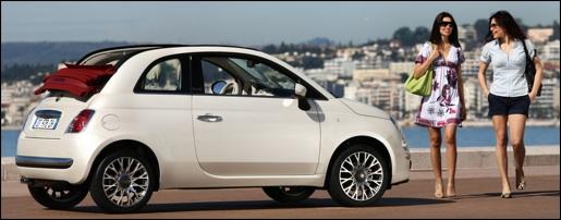 Fiat 500C Wallpaper