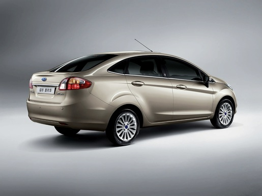 Ford Fiesta Sedan China