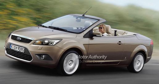 Ford Focus Cabrio Facelift 2008 Impressie