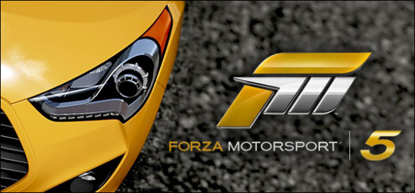 forza motorsport 5 HEader