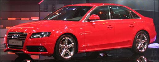 Frankfurt Audi A4 2008