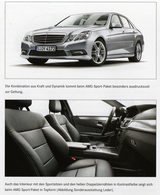 Nieuwe Mercedes E-klasse AMG pakket