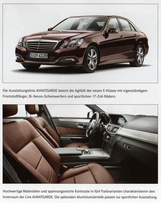 Nieuwe Mercedes E-klasse Avantgarde