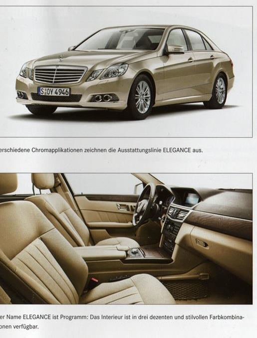 Nieuwe Mercedes E-klasse Elegance