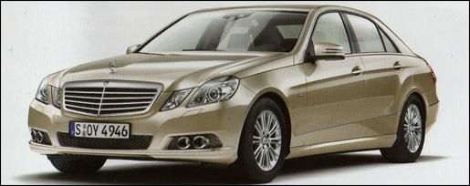 Mercedes E-klasse Sedan gelekt