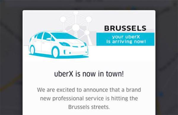 Getest: taxidienst Uber in Brussel [UberX]