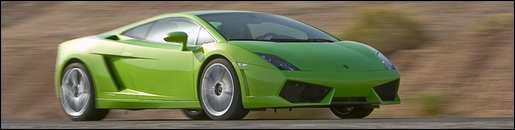 Hybride Lamborghini Groen
