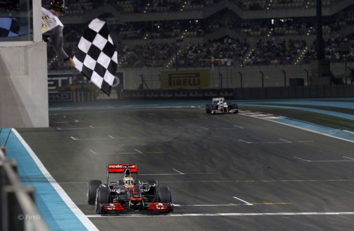 GP Abu Dhabi 2011 - Finish