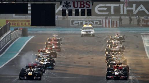 GP Abu Dhabi 2011 Start