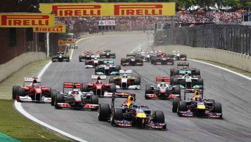 GP Brasil 2011 - Start