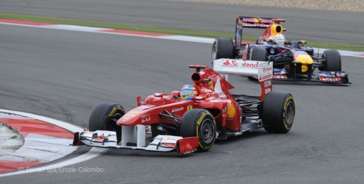 GP Duitsland 2011 Alonso - Vettel