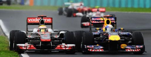 GP Hongarije 2011 Hamilton-Vettel