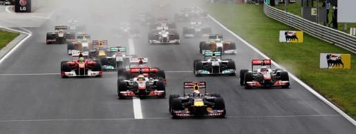 GP Hongarije 2011 Start