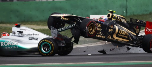 GP South-Korea 2011 - Crash