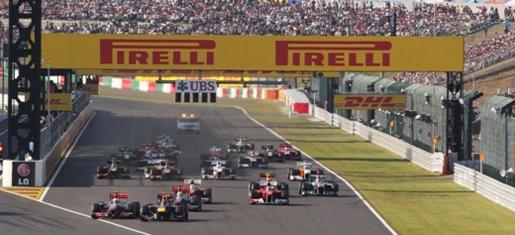 GP Suzuka 2011 - Start