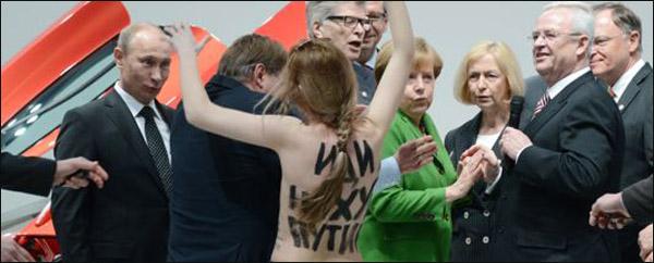 Volkswagen Poetin & Merkel