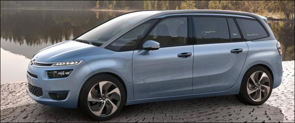 header citroen C4 grand picasso