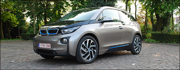 Rijtest: BMW i3 Advanced 2013