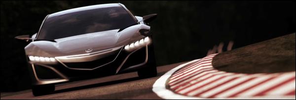 Honda NSX Concept Header