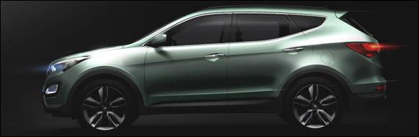 Hyundai ix45 / Santa Fe 2013