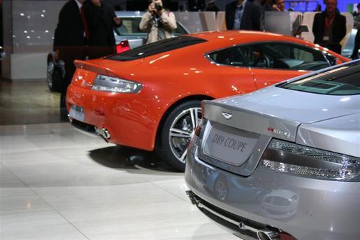 Aston Martin V8 Vantage N400 en DB9 LM