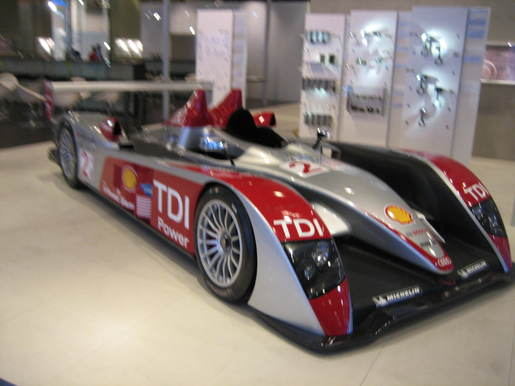 Audi R10 racewagen