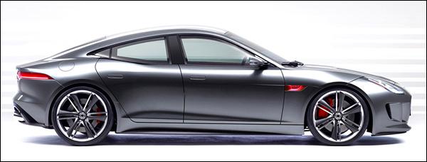 Een Jaguar F-Type Coupé met 4 deuren, kan dat?