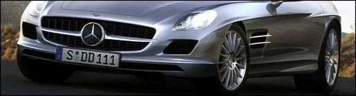 Impressie Mercedes SLC Gullwing