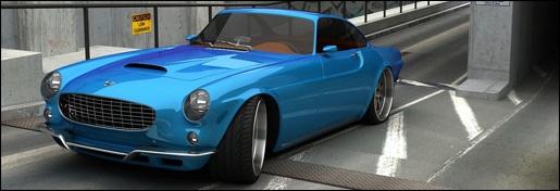 Impressie: Moderne Volvo P1800