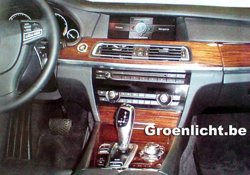 BMW 7-reeks Interieur