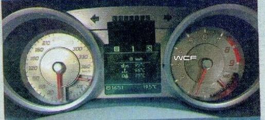 Interieur Mercedes SLC Gullwing