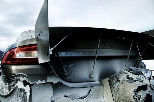 Jaguar XF-R speedrun 363 km/u