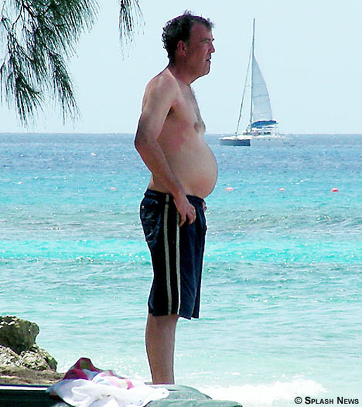 Jeremy Clarkson on Vacation with Belly