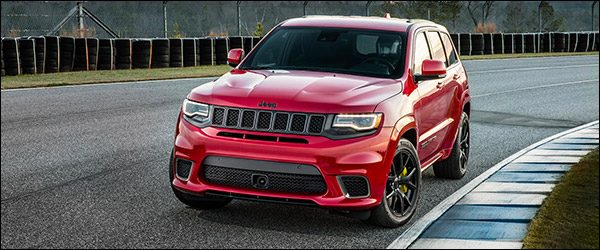 Officieel: Jeep Grand Cherokee Trackhawk [707 pk / 850 Nm]